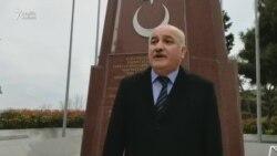 Müsavat 31 martı türk əsgərinin xatirəsinə ucaldılmış abidədə andı