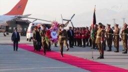 'افغانستان با پیکر شهروند افتخاری خود وداع کرد'