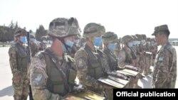 Учения войск ПВО. Фото с сайта Минобороны Узбекистана.