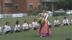 Кореяда кыргыздар майрамдап жатышат