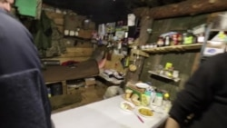 Кухня на одной из передовых позиций украинской армии под Попасной
