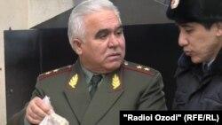 Шерхон Салимзода в бытность главой Агентства по контролю за наркотиками при президенте Таджикистана