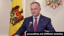 Moldova prezidenti İqor Dodon