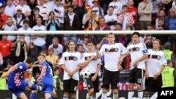 .تيم ملی فوتبال کرواسی آلمان را شکست داد. (عکس از AFP)