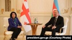 Саломе Зурабишвили пригласила Ильхама Алиева посетить с визитом Грузию