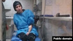 Iranian political prisoner Arash Sadeghi (file photo)