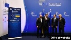 Президент Украины Петр Порошенко на саммите Украина-ЕС. Боюссель, 24 ноября 2016 года.