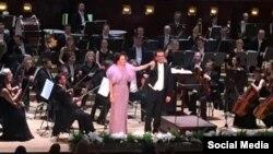 Аида Гарифуллина Прага концертында