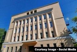Конструктивистское здание АТС на Серпуховском Валу, построено в 1932 г. по проекту Касьяна Соломонова. Снесено в 2015-м