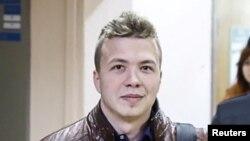 Журналист Роман Протасевич.