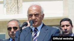 Али Инсанов, бывший министр здравоохранения Азербайджана.