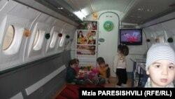 Два месяца назад открылся детский сад, разместившийся в списанном ЯК-40