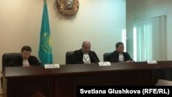 The Vadim Kuramshin case is heard at the Kazakh Supreme Court in Astana.