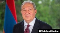 Президент Армения Армен Саркисян (архив)
