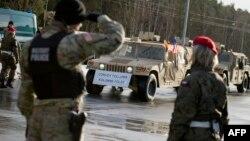 Polşada NATO qoşunları