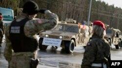Hazırda ABŞ-ın Polşada rotasiyalı hərbi qüvvəsi var