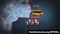 Подав документы в Луганске, просители российского гражданства должны несколько месяцев ждать спецрейса в российский Новошахтинск