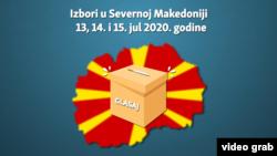 Zdravstveni protokol za izbore u Severnoj Makedoniji