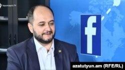 Министр образования и науки Араик Арутюнян (архив)