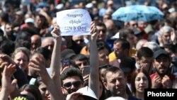 Протести во Ереван