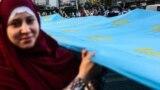 Kyivde Qırımtatar bayraq künü, 2017 senesi