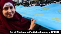 День крымскотатарского флага в Киеве, 2017 год