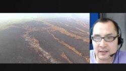 Волонтер Андрей Бородин – о специфике тушения лесных пожаров