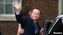Дейвід Камерон із родиною залишає офіційну резиденцію прем'єр-міністра в Лондоні, 13 липня 2016 року