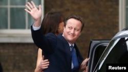 Дэвид Кэмерон в день ухода с поста премьер-министра, 13 июля 2016