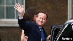 Дэвид Кэмерон в последний день своего пребывания в должности премьер-министра Великобритании. 13 июля 2016 года.