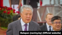 A man identified in media reports as Belarusian businessman Daniil Uritskiy is believed by many to be former Kyrgyz Prime Minister Daniyar Usenov.