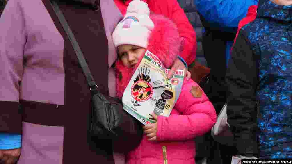 Tatarstan -- Osinovo -- Rally against trash-burning factory -- 15Mar2020