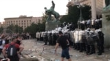 grab Belgrade Clashes