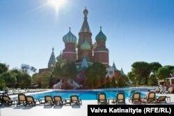 Анталиядагы орус туристтери эс алган жер. Түркия