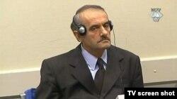 Vidoje Blagojević u sudnici 17.siječnja 2005. godine.