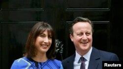 Дэвид Кэмерон с супругой Самантой