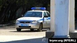 Автомобиль российской полиции. Иллюстративное фото.