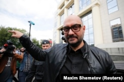 Russian theater director Kirill Serebrennikov