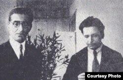 Mihail Jora cu George Enescu