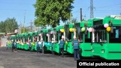 Троллейбусы города Ош.