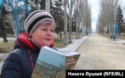 Местная поэтесса Анна Мороз