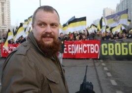 """Дмитрий Демушкин на """"Русском марше"""", 4 ноября 2014 года"""