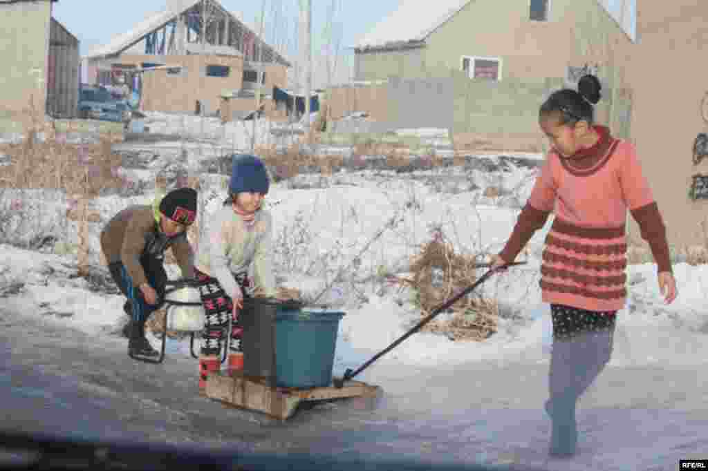 Бишкекские новостройки зимой #17