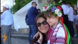 Ziua Internațională a Cămășii Ucrainene la Chişinău