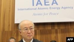 يوکيا آمانو، مديرکل آژانس بين المللی انرژی اتمی