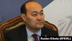 Галым Шойкин, председатель комитета по делам религий министерства культуры и спорта Казахстана. Астана, 10 июня 2016 года.