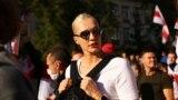 Алену Леўчанку судзілі за фота ў Instagram з акцыі