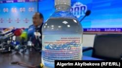 Министри Алымкадыр Бейшеналиев 16-апрелдеги брифингде уу коргошун Кыргызстандагы ооруканаларда жаткан 300 бейтапка берилип, байкоо жүргүзүлгөнүн жана натыйжасы далилденгенин жарыялаган.