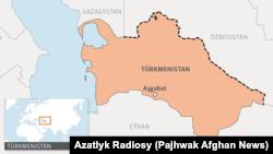 Ўзбек-туркман чегараси узунлиги 1650 километрни ташкил этади.