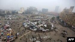 Протестите на плоштадот Тахрир во Каиро